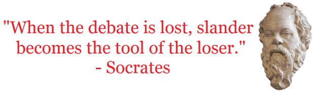 socrates slander