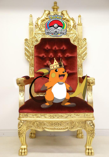 Raichu throne