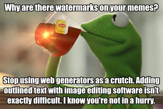 kermit lipton tea meme web generators