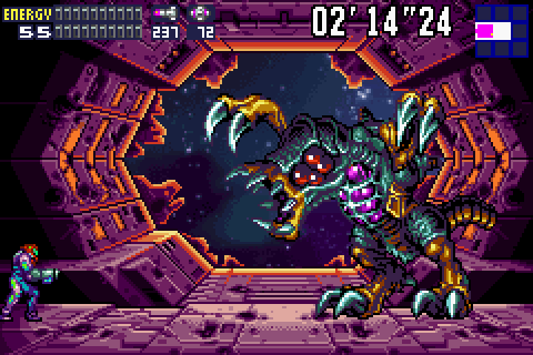 metroid fusion awesome video game