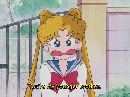 sailor moon brother