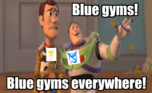 blue gyms everywhere toy story pokemon go.png
